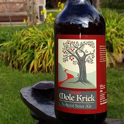 Mole Kriek 500ml bottle packaged beer