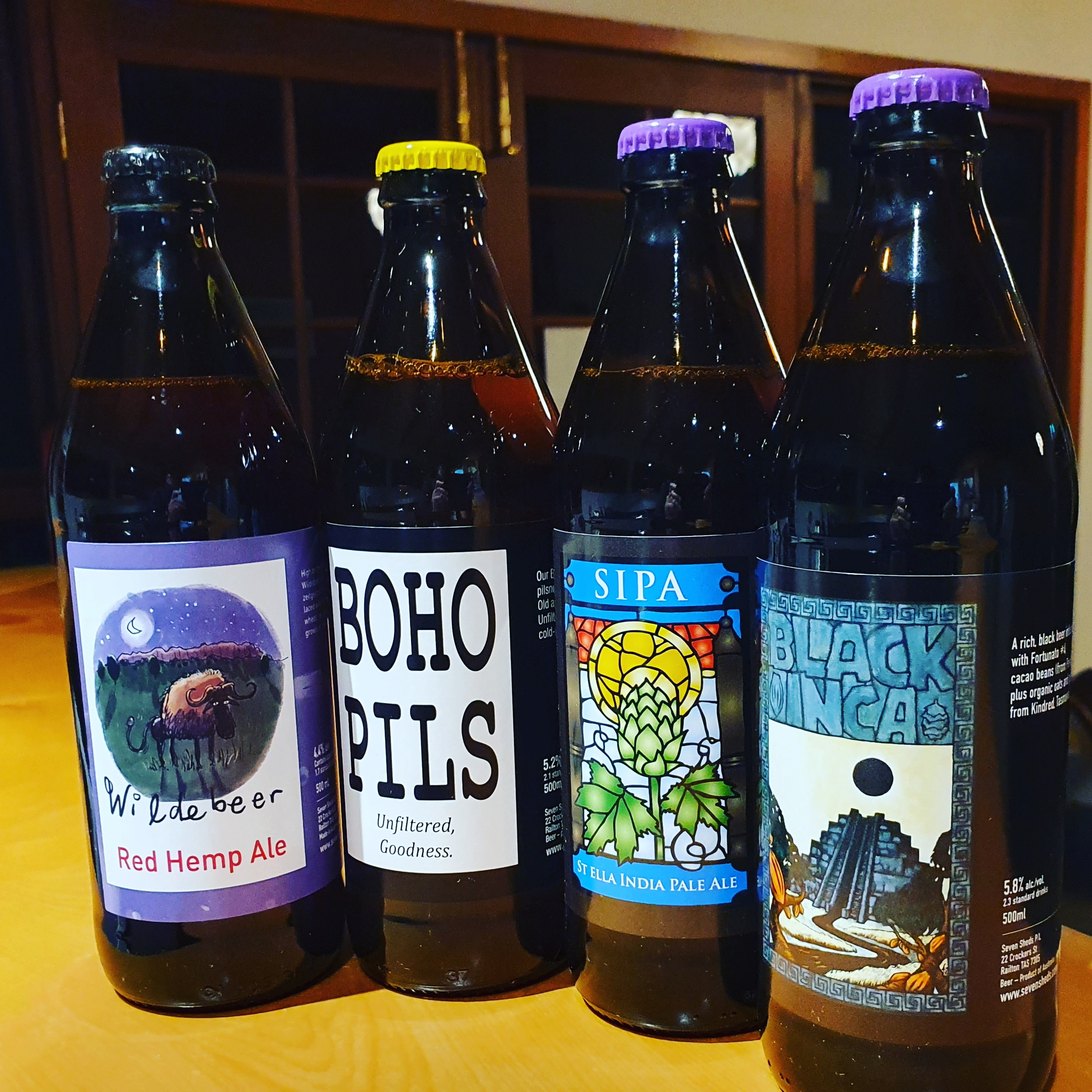 All Weather Mix beers in bottles