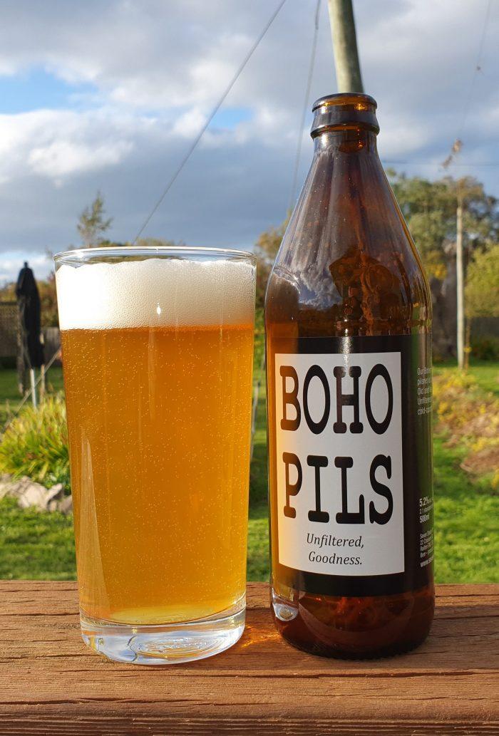 BoHo Pils product shot