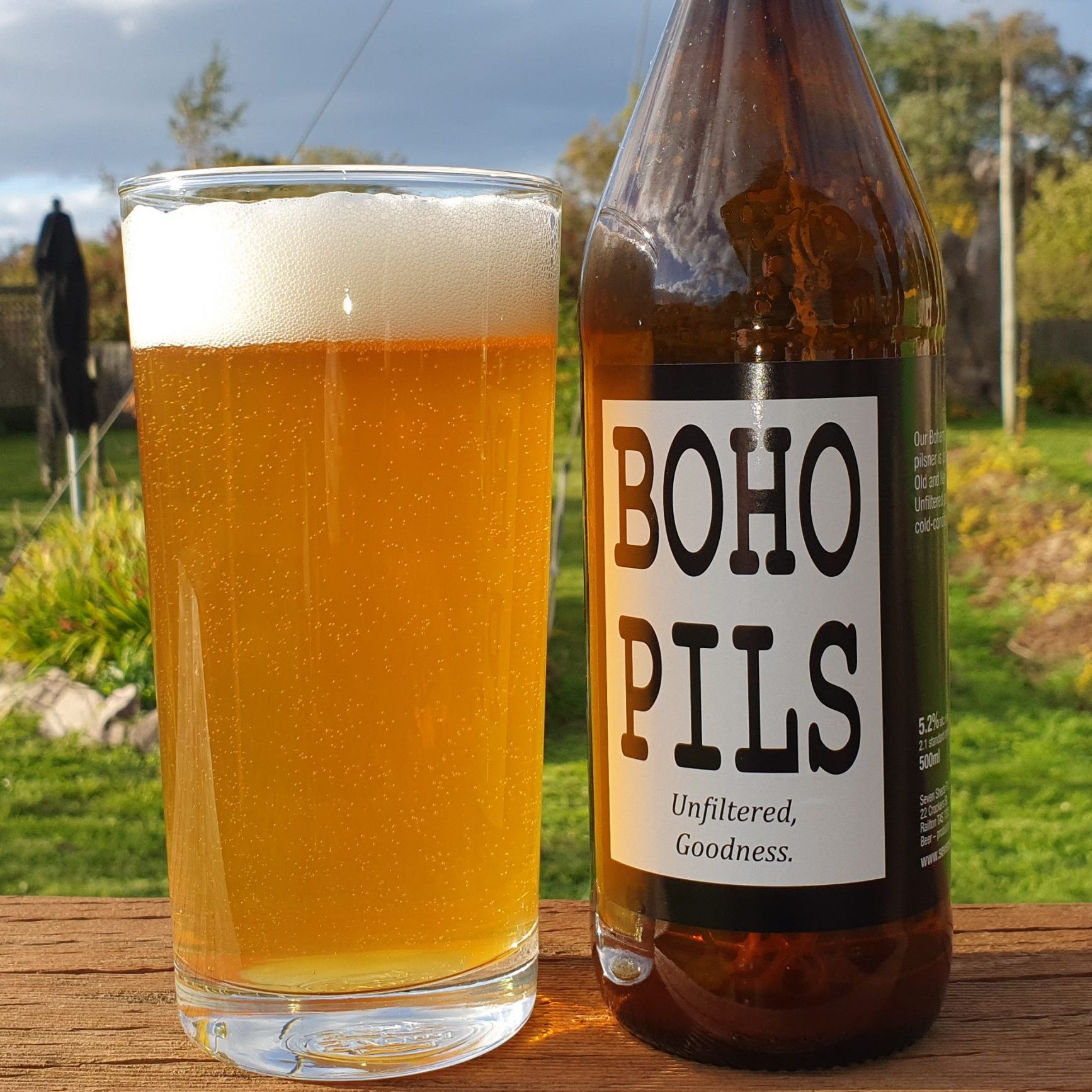 Seven Sheds Brewery BoHo Pils Pilsner product shot