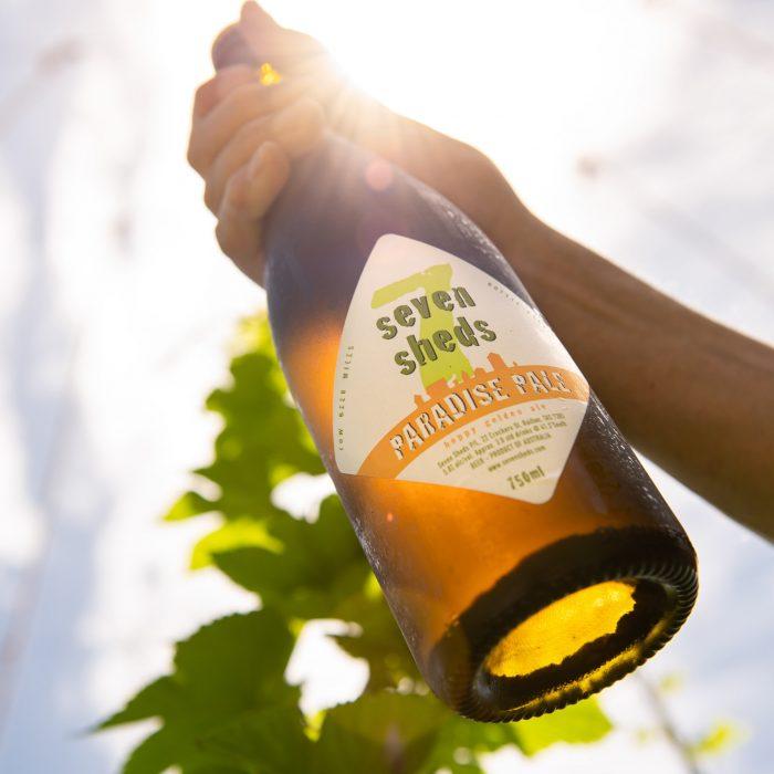 Seven Sheds Paradise Pale 750ml bottle